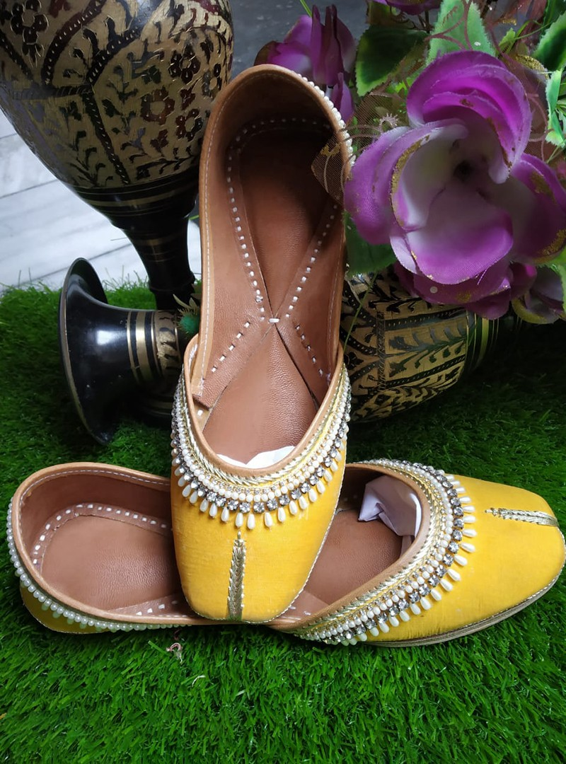 Yellow Flats shoes