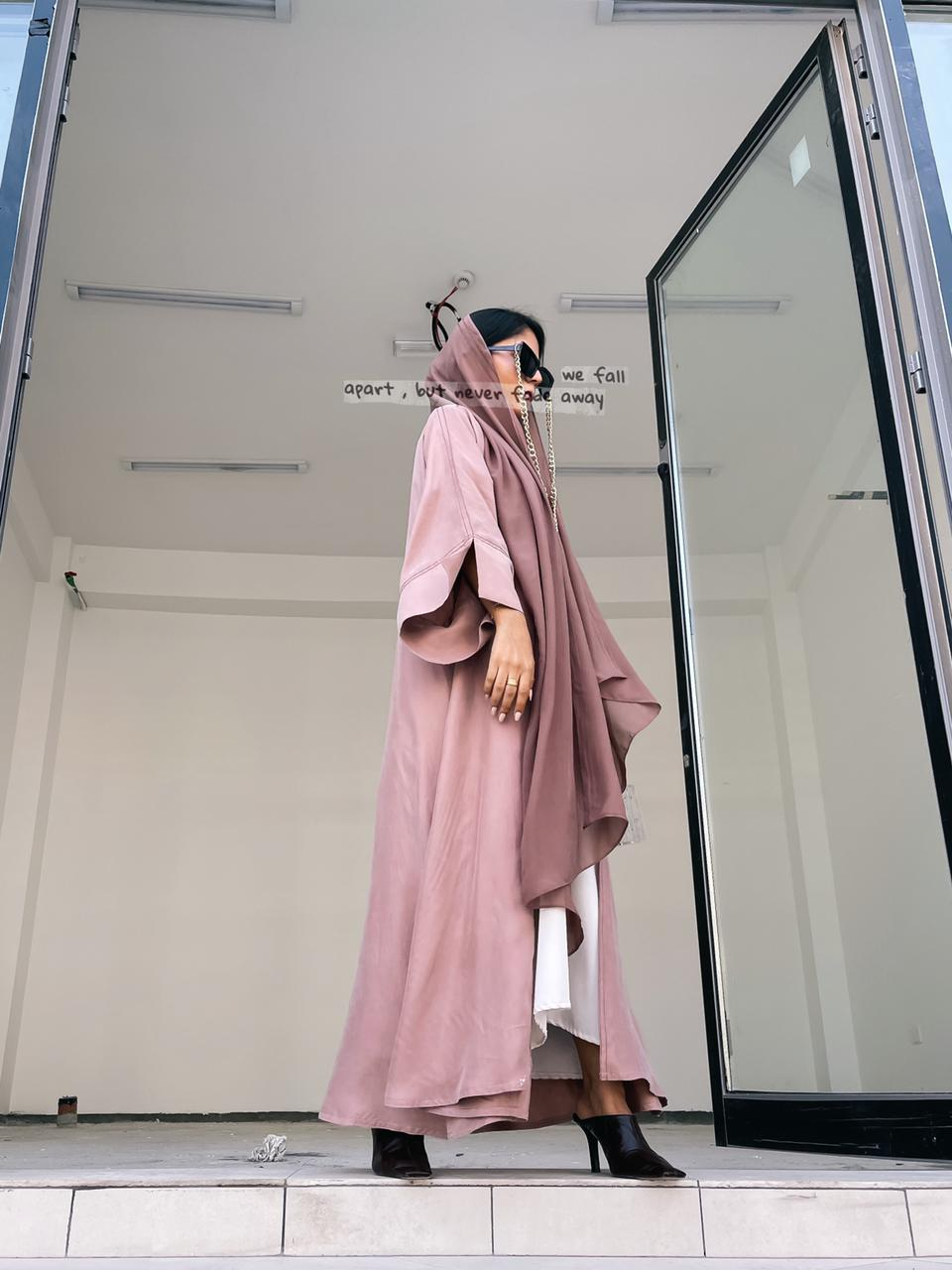 Light Velvet Abaya