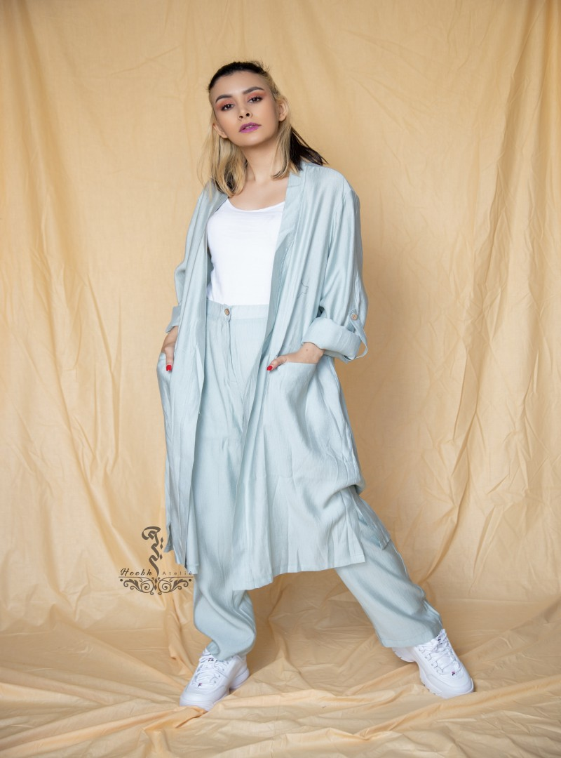 Set of blouse and pant